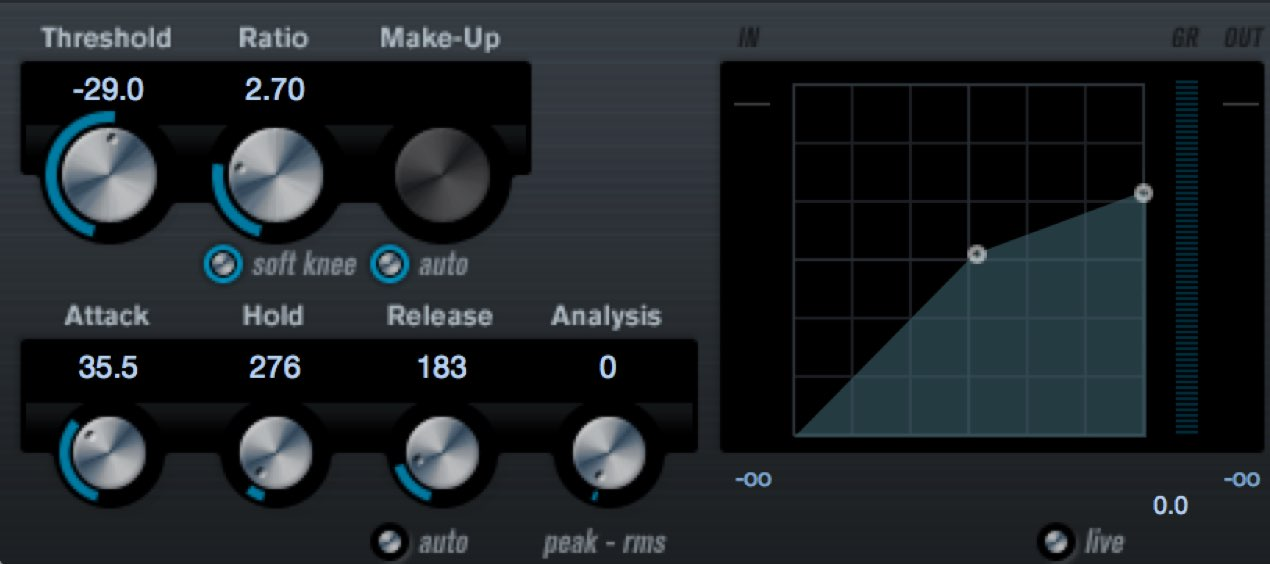 Expanding your sound with parallel compression