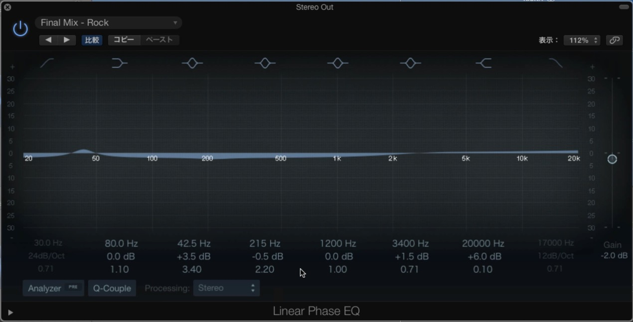 Linear phase EQ basics