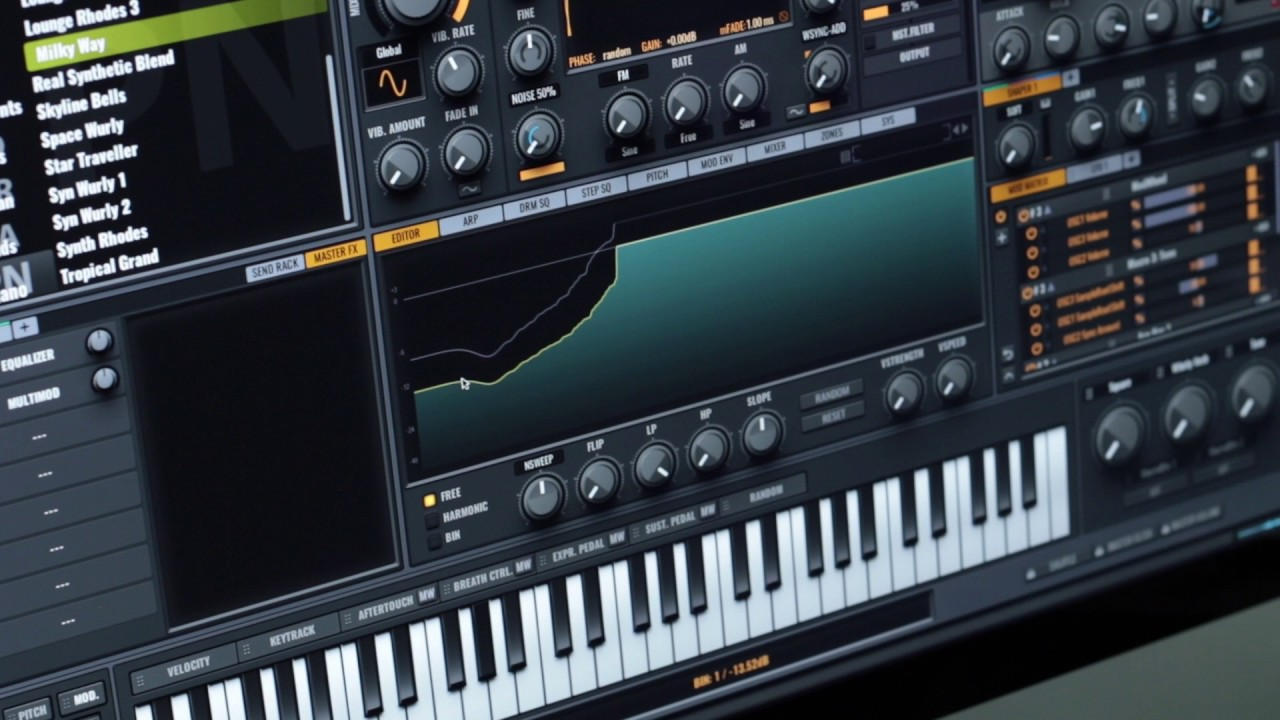 Vengeance Sound Avenger - How to use - Editing drum patches and