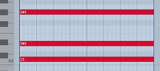 MIDIノート