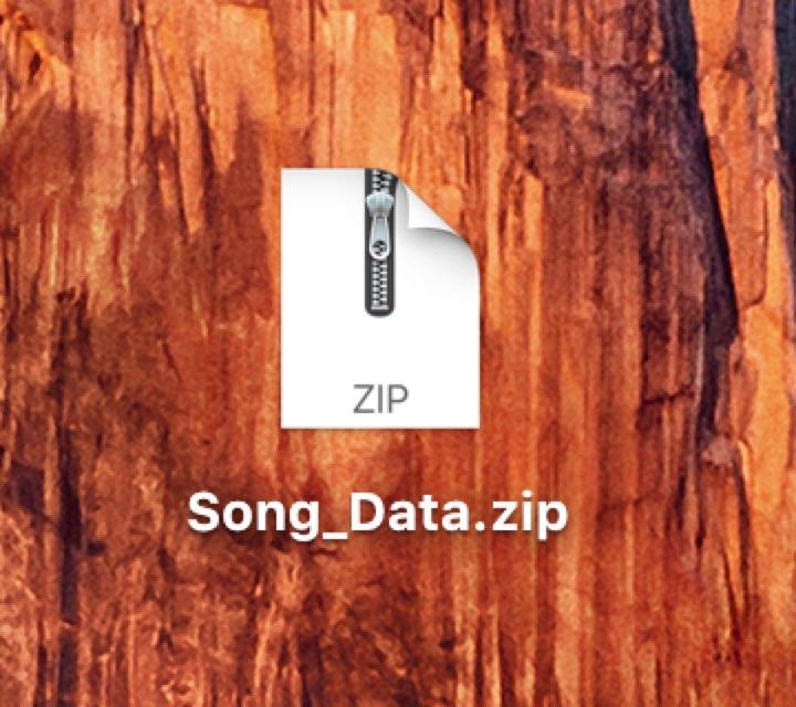 他人へ楽曲ファイルを渡す際の注意点