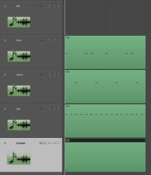 Logic MIDI分割 2