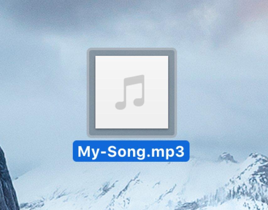 音楽ファイルmp3