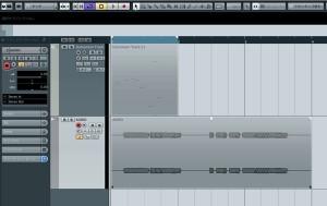 MIDI、波形表示