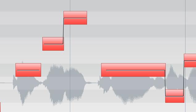 VariAudioを使用しピッチ修正