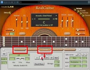Realguitarモード