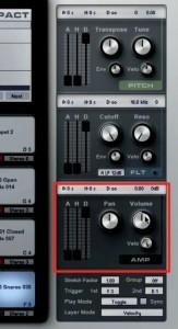 Ampの調整