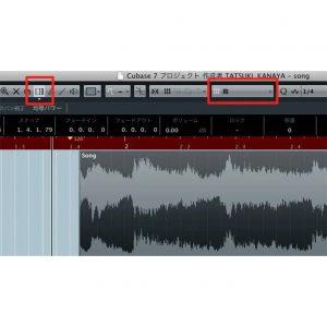 オーディオ素材に合わせテンポ変更