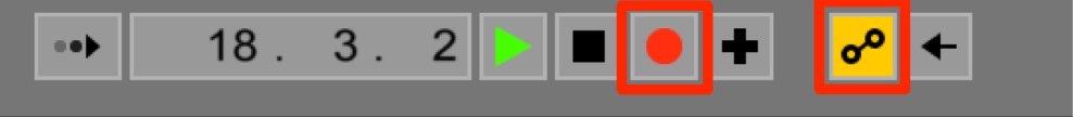 レコーディングボタン