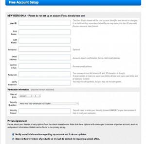 iLok登録