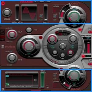 Ultrabeat_4_シンセサイザーセクション2