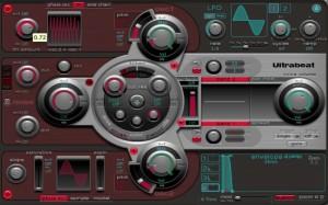Ultrabeat_4_シンセサイザーセクション1