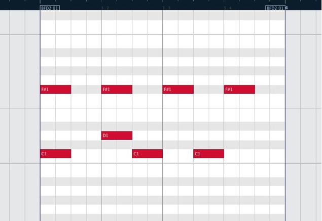 MIDIモディファイアーで打ち込みをコントロール