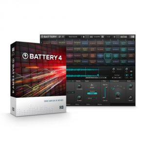 Native Instruments「Battery 4」1_サウンドライブラリの管理/キット保存