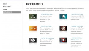 User Libraries