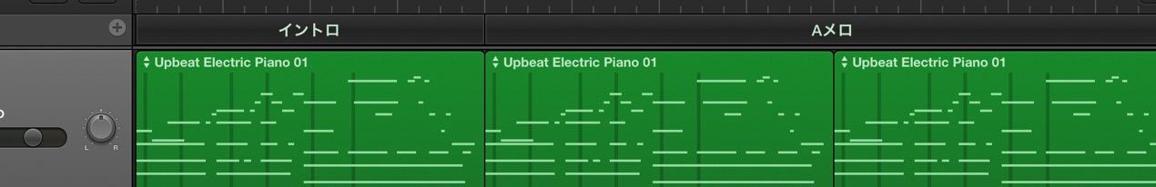 楽曲に合わせ構成を追加