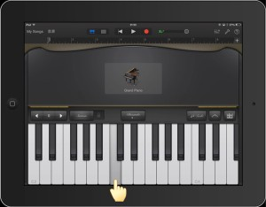 GarageBand iOS Keyboard_1