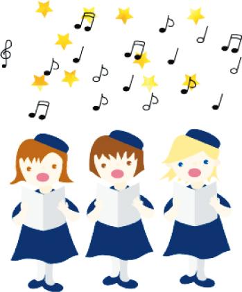 音程を歌う