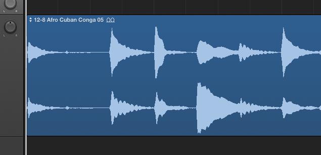 オーディオレコーディング後のタイミング遅延 Logic