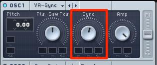 Sync設定