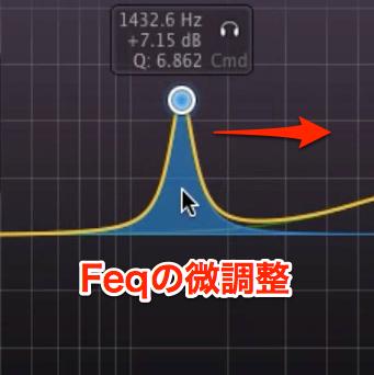 Feqの微調整