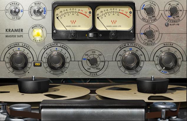 Waves Kramer Master Tape デジタル臭さを解消!!テープシミュレーター