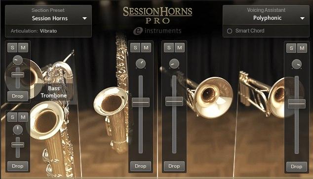 Session Horns Pro 1 追加機能と概念