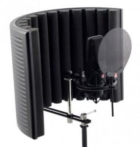 ボーカル録音のクオリティーを上げる リフレクションフィルター