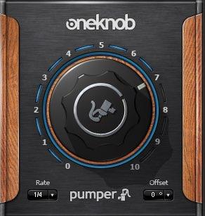 Waves OneKnob Pumper サイドチェイン効果