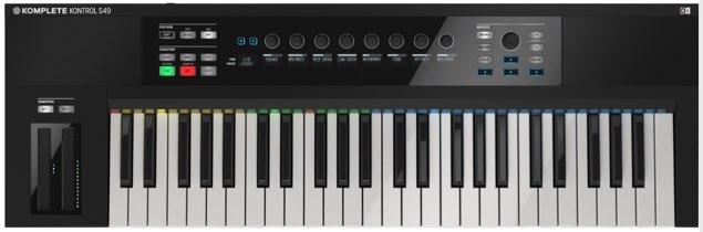 MIDIキーボードの設定