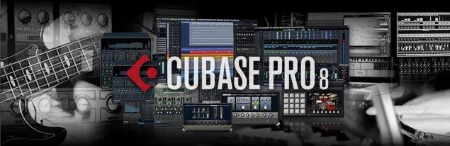 Cubase 8 コードパッドとコードトラック