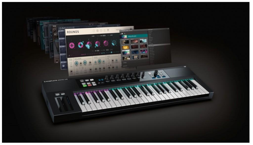 高機能MIDIキーボード KOMPLETE KONTROL