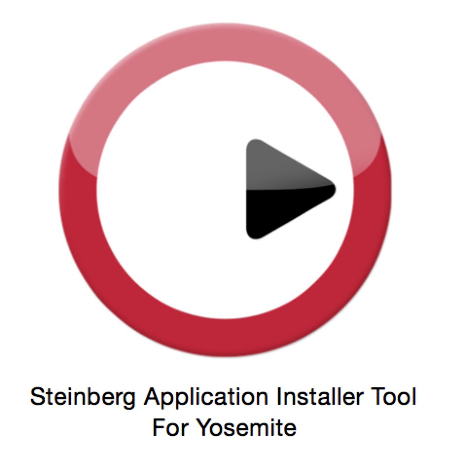 Steinberg Application Installer Tool For Yosemite
