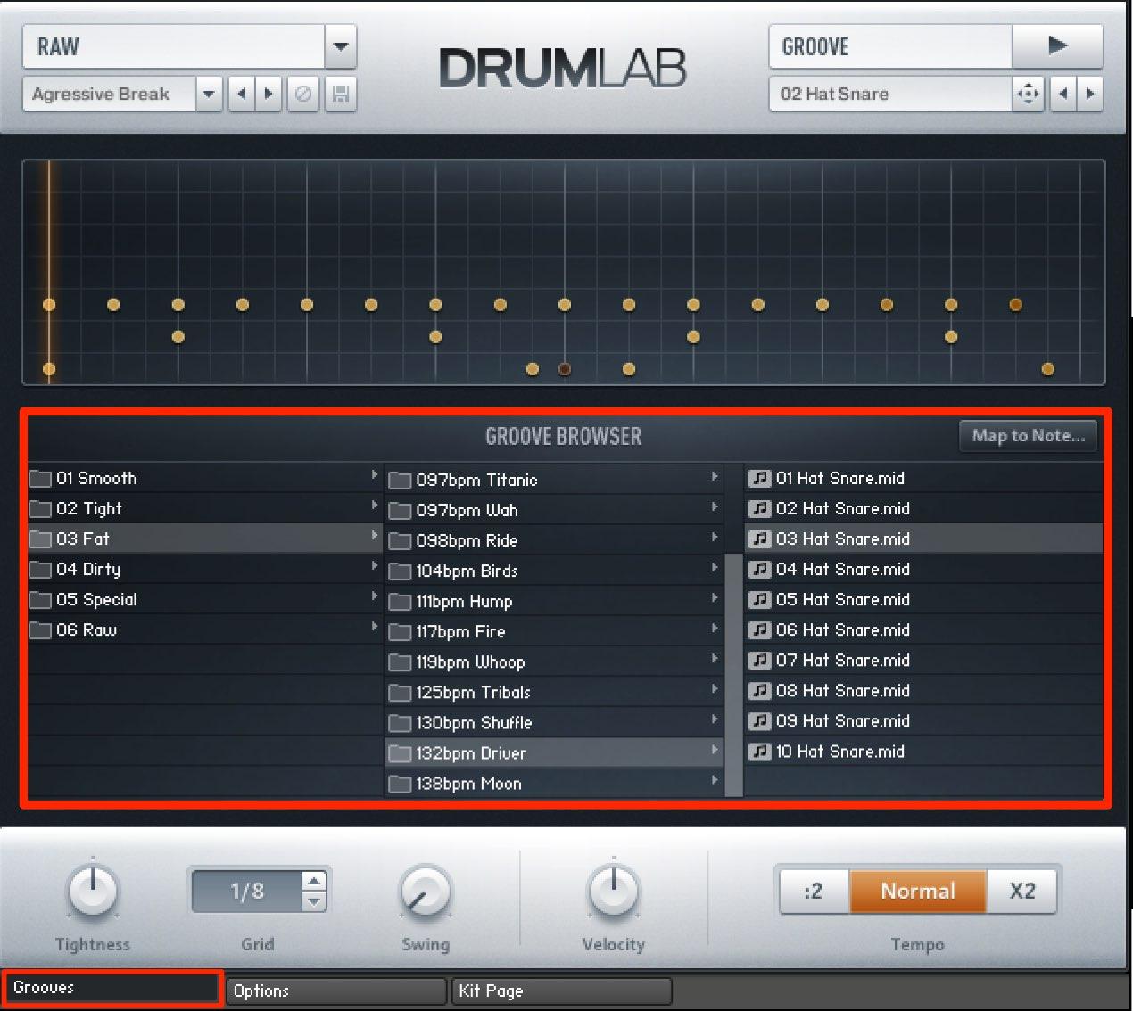 DrumLab プリセット2