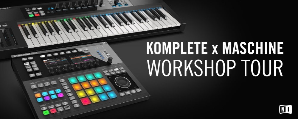 KOMPLETE-MASCHINE_Workshop_Tour_JAPAN