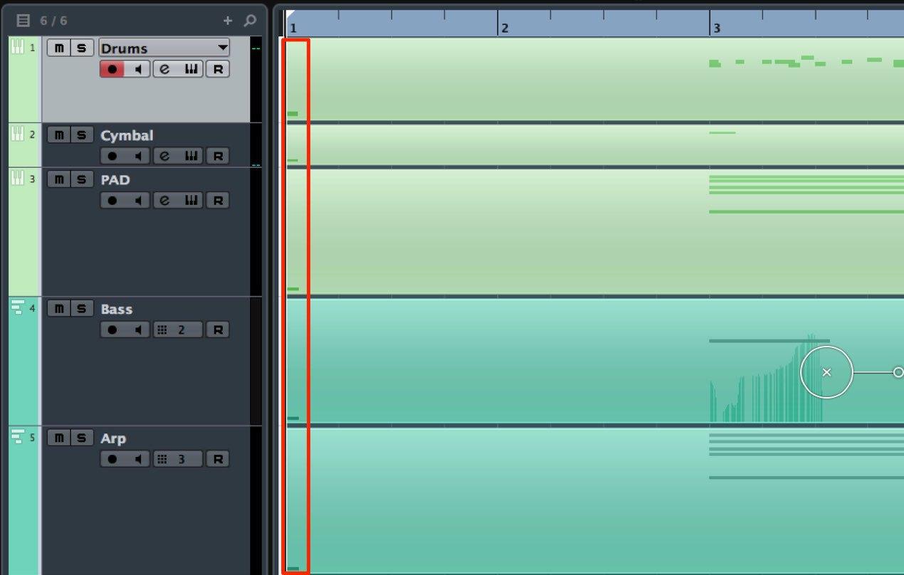 2_MIDIとAUDIOの互換