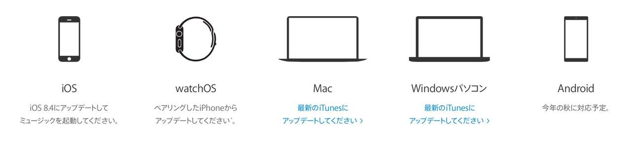 Apple Music 対応