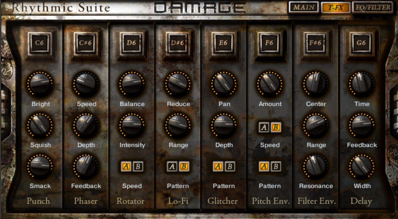 DAMAGE 3_オートメーションと特殊効果