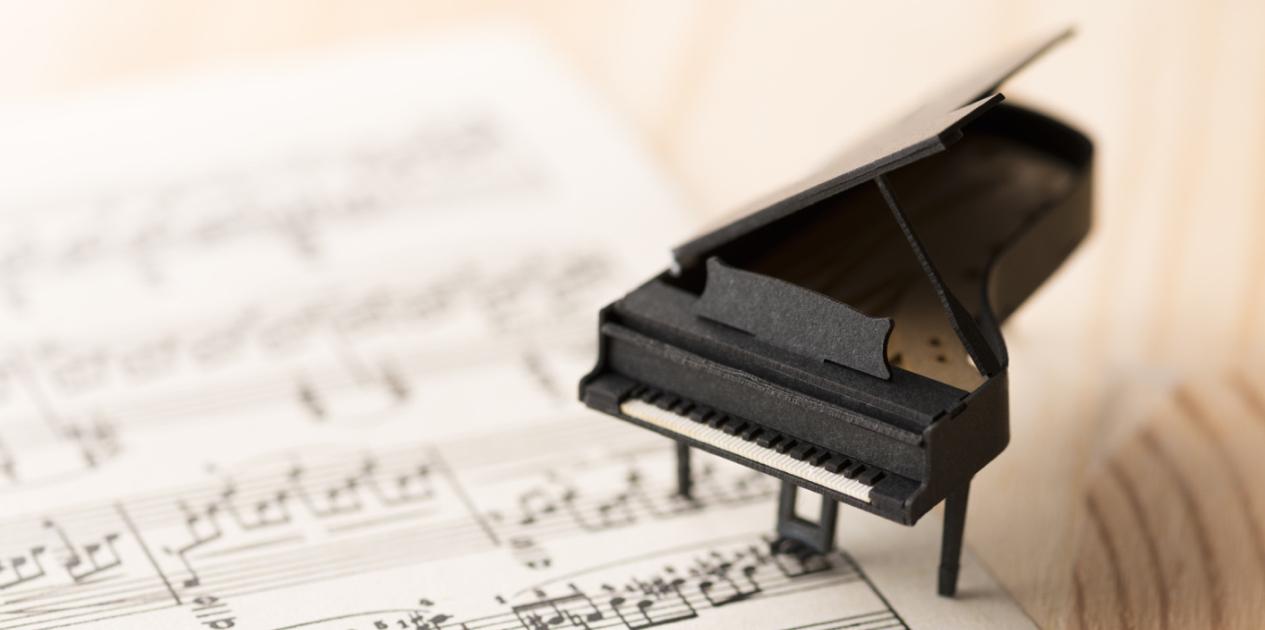 ピアノアレンジ 1_メロディーの打ち込み