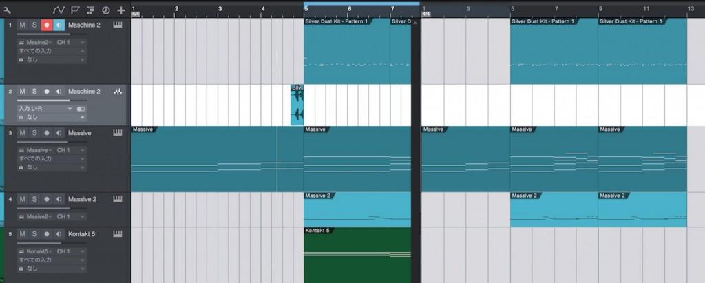 StudioOne 3 新機能 スクラッチパッド