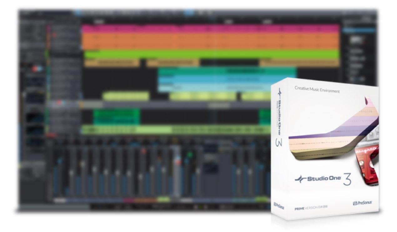 PreSonus Studio One | Prime