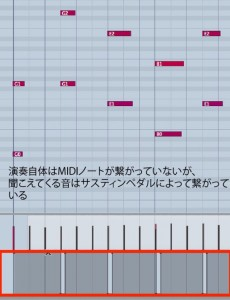 ピアノアレンジ 4_ 音の長さとベロシティ 実践編