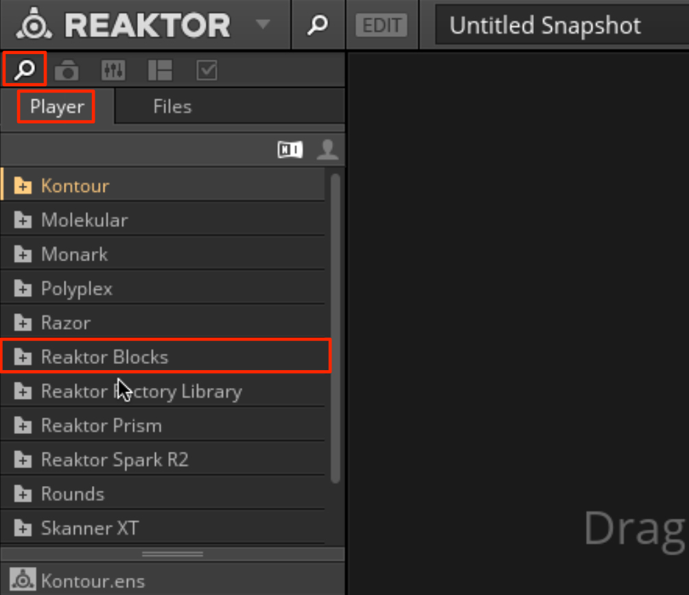 Reaktor Blocks