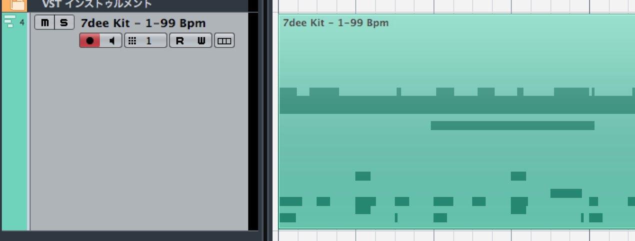 MIDIのチャンネル