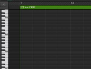 ピアノロールの音符単位を変更 Logic X