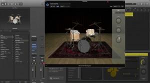 Logic Pro X 新機能_2 Drummer