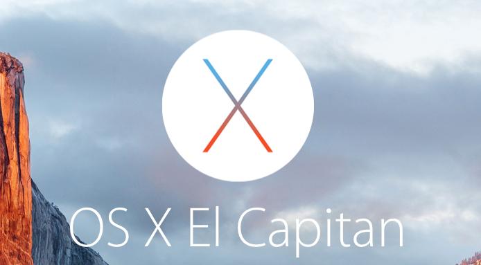 OSX El Capitan(10.11)