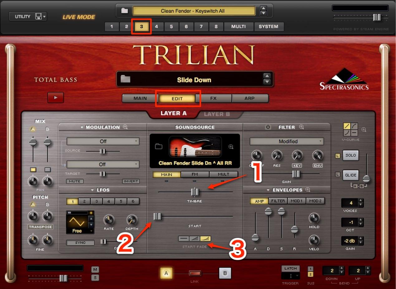 Trilian 設定