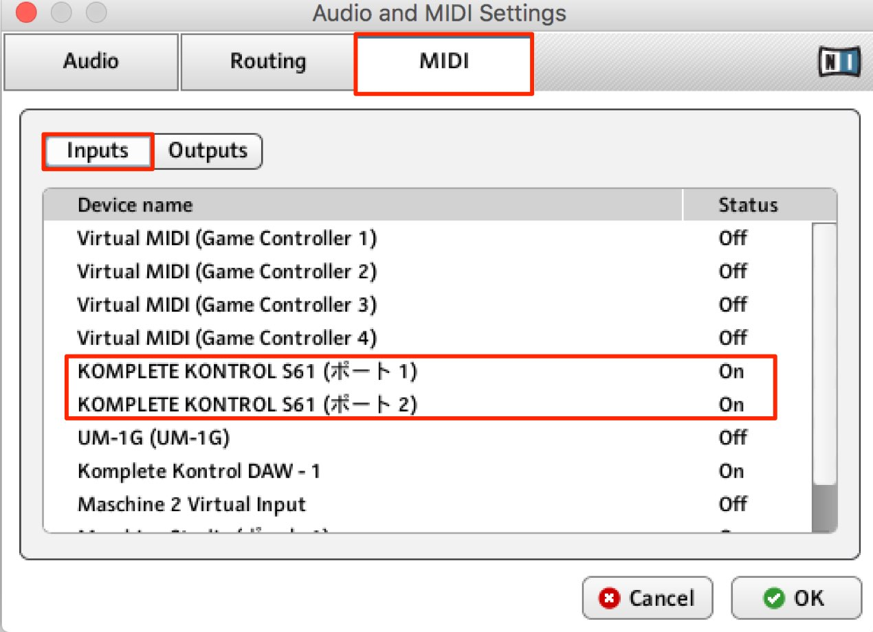 Audio and MIDI Settings-1