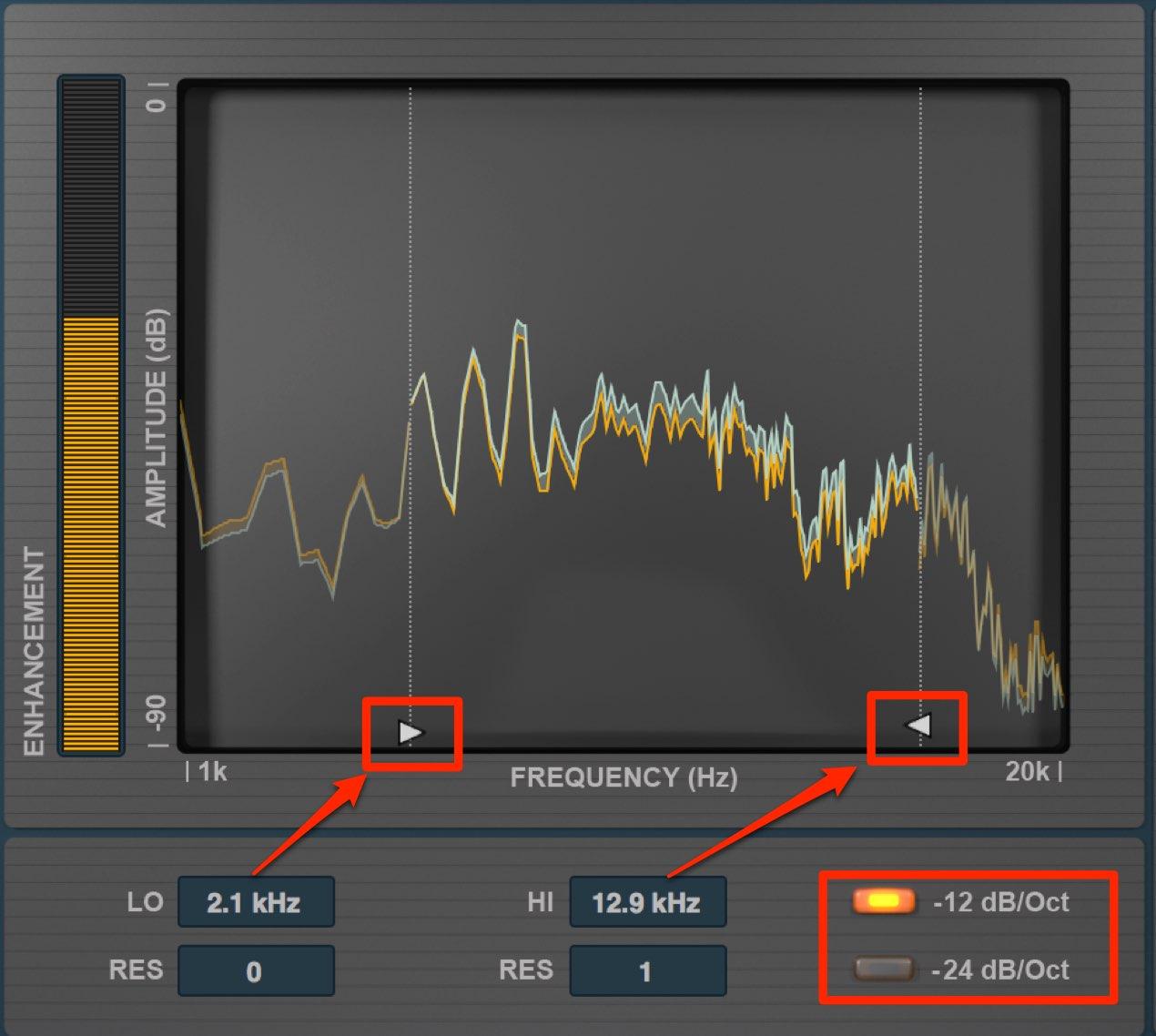 周波数の微調整